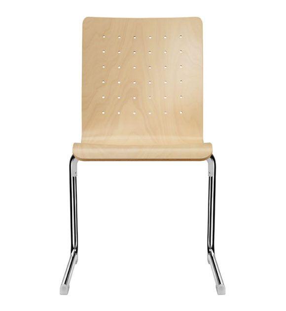 Seminarstuehle Besprechungsstuehle CFormgestell verschiedene Holzsitzschalen 1
