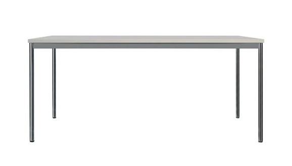 T 204 Besprechungstische robust mit Rundrohrgestell und Zargenrahmen