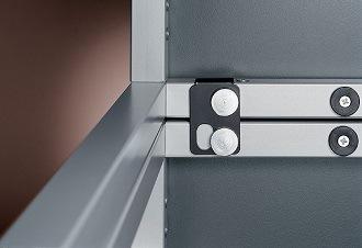 Besprechungstisch clip Metallverketter, Tischverbinder