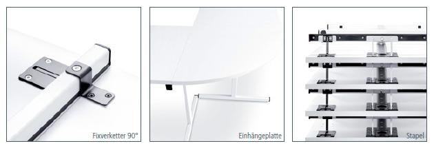 Klapptisch Verketter Einhaengeplatte Tischstapel Produktdetails