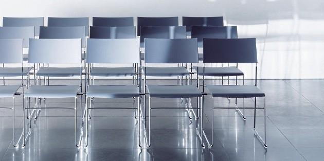 Seminarstühle outline Kunststoffsitz für Vortragsräume und Seminarräume