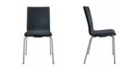 Seminarstuehle Besprechungsstuehle drei Gestelle acht Formen der Holzsitzschale Vollpolster