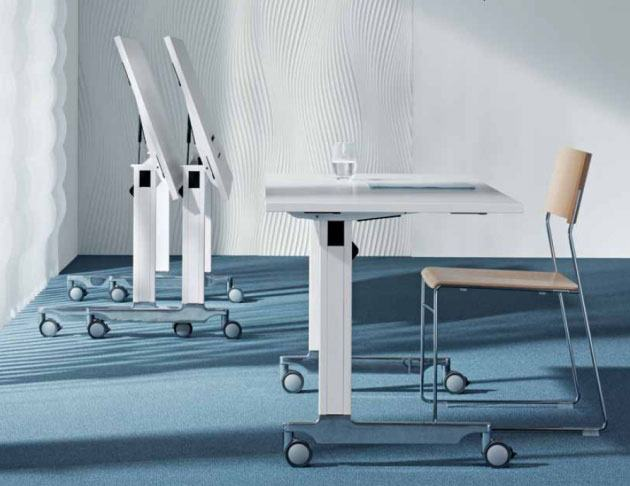Seminartische n-table, mobil und flexibel