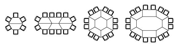 Besprechungstisch clip Stellvarianten