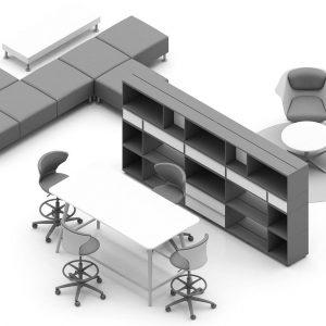 Möbel für Ideenraum und Kreativraum