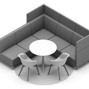 Sofa für Ideenraum, Kreativraum