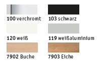 Gestellfarben Stehtisch SMM