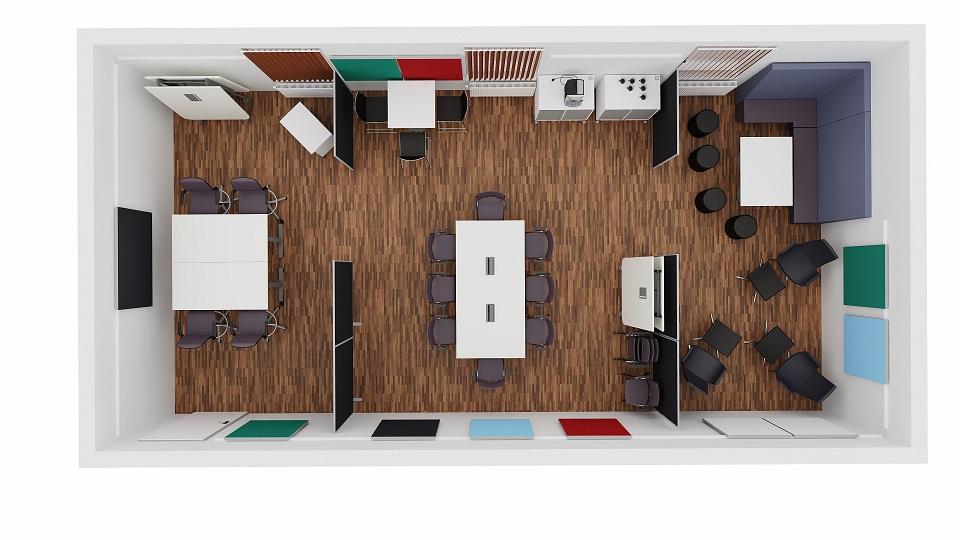 Planung Kreativraum, einrichten, gestalten, multifunktional nutzen