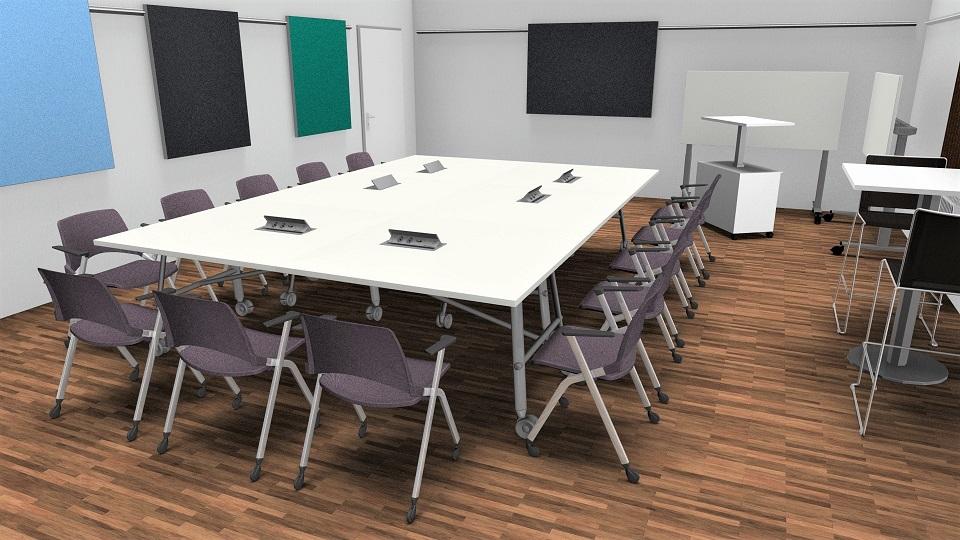 Multiraum für Meetings im Kreativraum