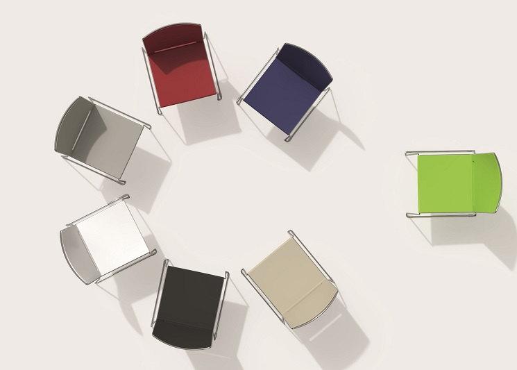 farbige Multi Seminarstühle