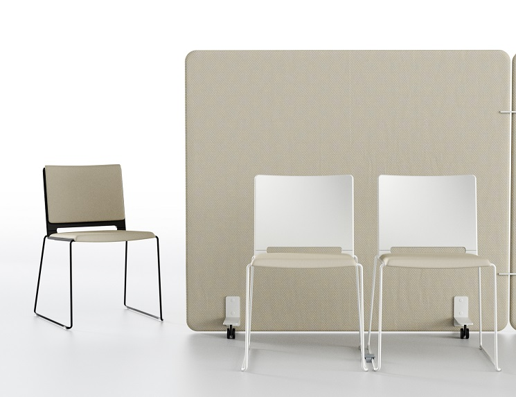 Multi Stühle Sitz gepolstert oder Sitz- und Rückenpolster