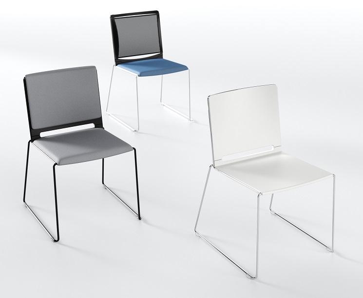 Seminarstühle Multi mit Kufengestell