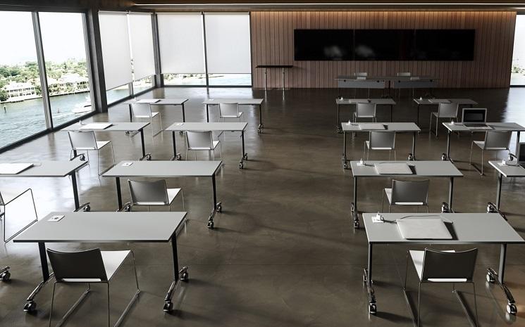 Archimede Einzeltisch für Vorträge, Schulungen, Seminare oder Präsentationen