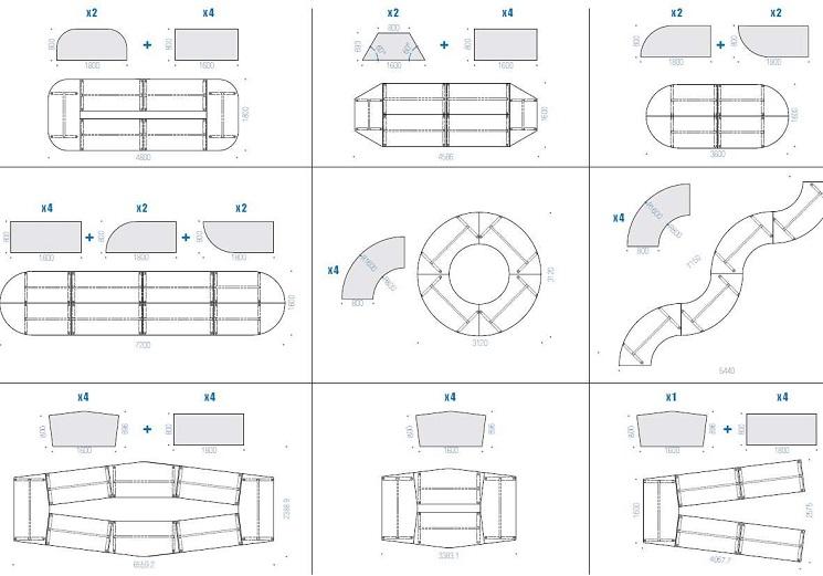 Stellbeispiele Archimede Variante 1