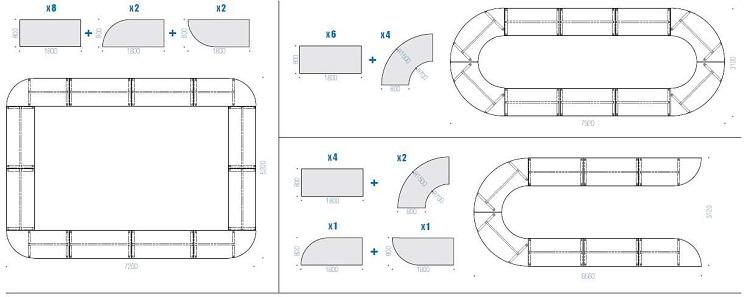 Stellbeispiele Archimede Variante 2